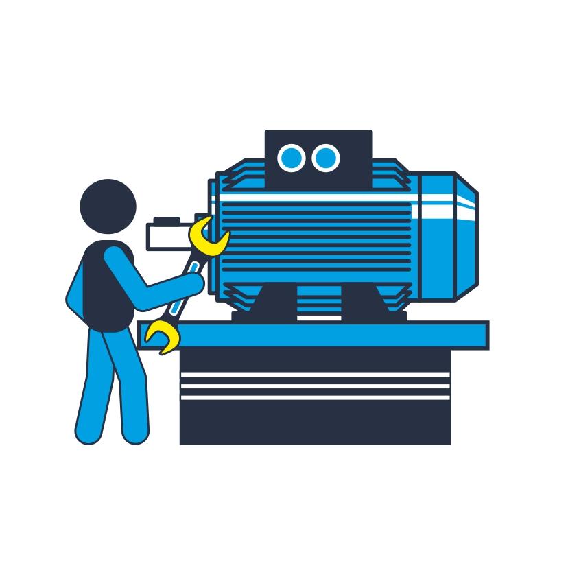 Service elektrische Maschinen